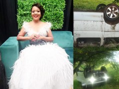 Zanele Mbokazi accident