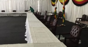 Cabinet Meeting Tent