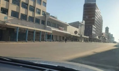 Harare-CBD Lockdown