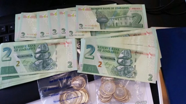 Bond coins and bond notes