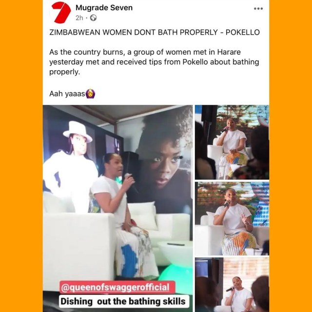 Pokello bath comment