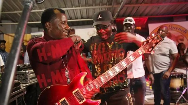 Macheso and Alick macheso