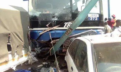 Zupco bus Acciednt