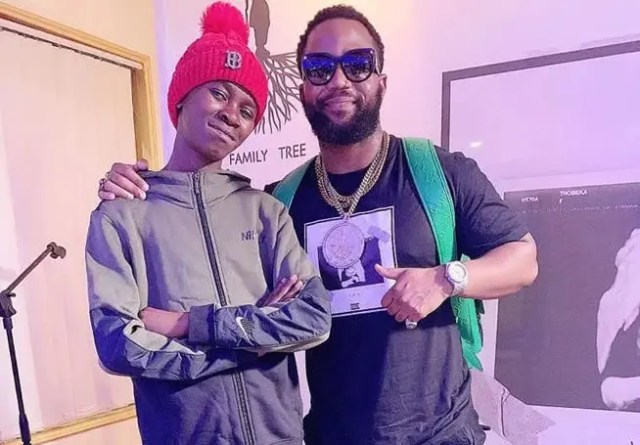 Cassper Nyovest and Mzwandile