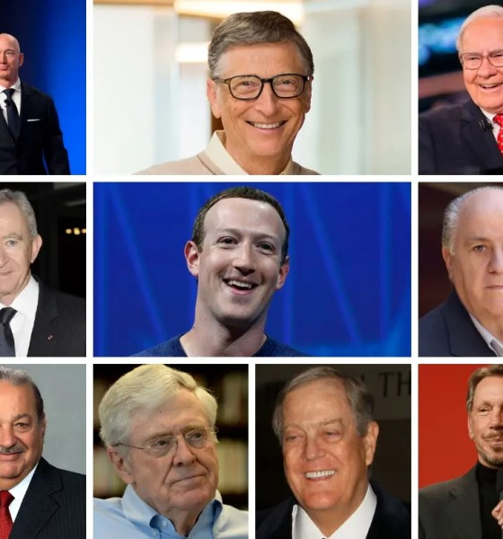 Worlds 10 Richest Men