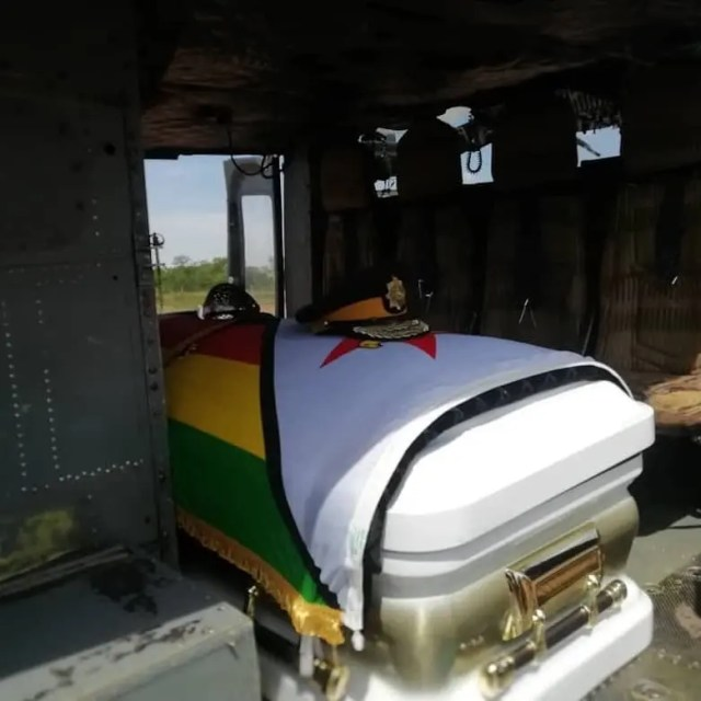 Cde Griffith Mpofy coffin
