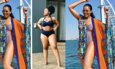 Connie Ferguson and Her Daughter Rocking Swim Wear