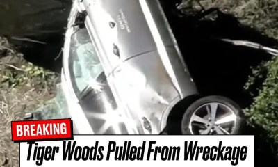 Tiger Woods car wreck