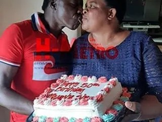 Alick Macheso and Wife