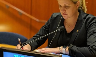 Minister Kirsty Coventry