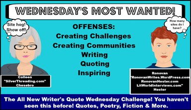 Mind Games: Writers Quote Wednesday Writing Challenge