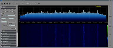 sdr sharp running
