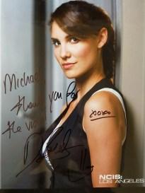 Daniela Ruah's autograph