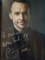 My autograph from Paul. Blackthorne.