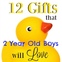 12 Gifts that 2-Year Old Boys Will Love