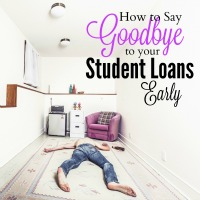 How to Pay Off Student Loans Early
