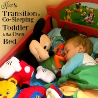 How to Transition a Co-Sleeping Toddler to Their Own Bed
