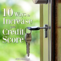 10 Ways to Increase Your Credit Score