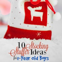 10 Stocking Stuffer Ideas for 1-Year Old Boys