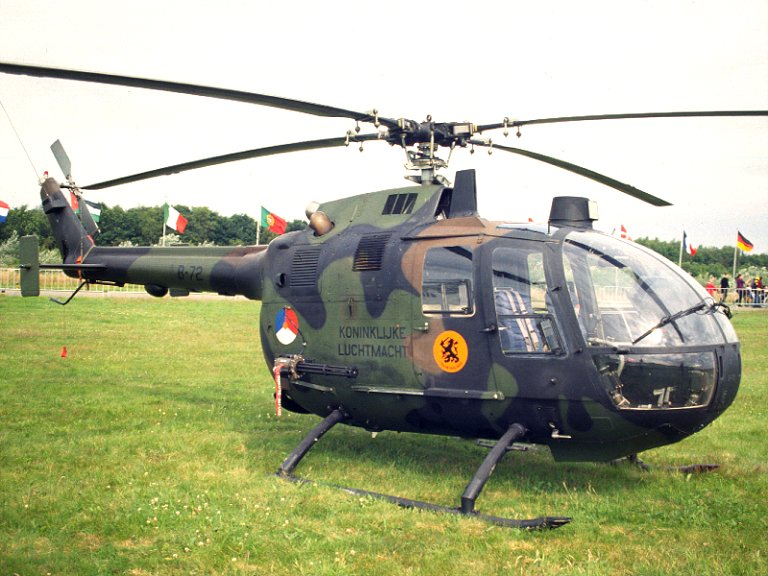 German MBB Bo 105