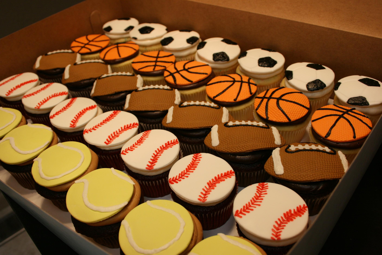 Sports Cupcake Ideas
