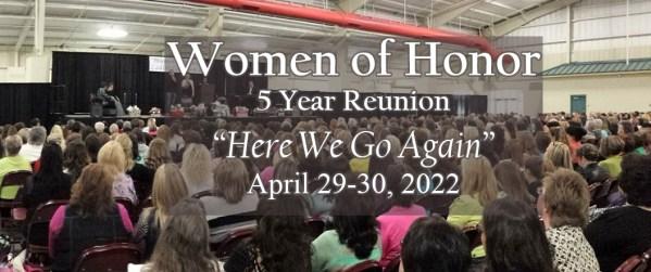 Women of Honor 5 Year Reunion