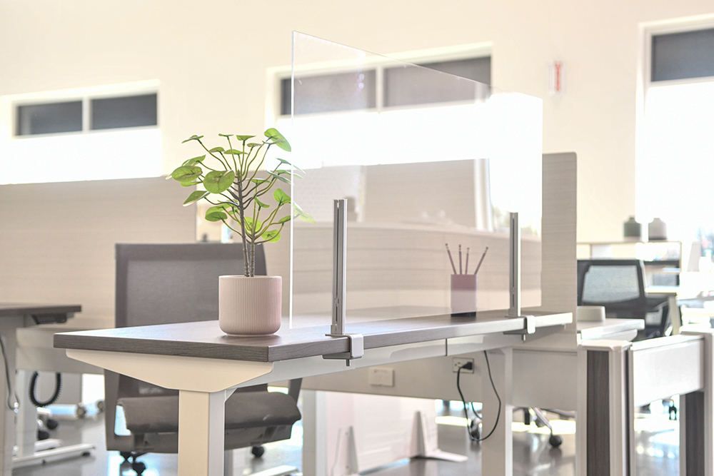 Screens to attached to an existing desk