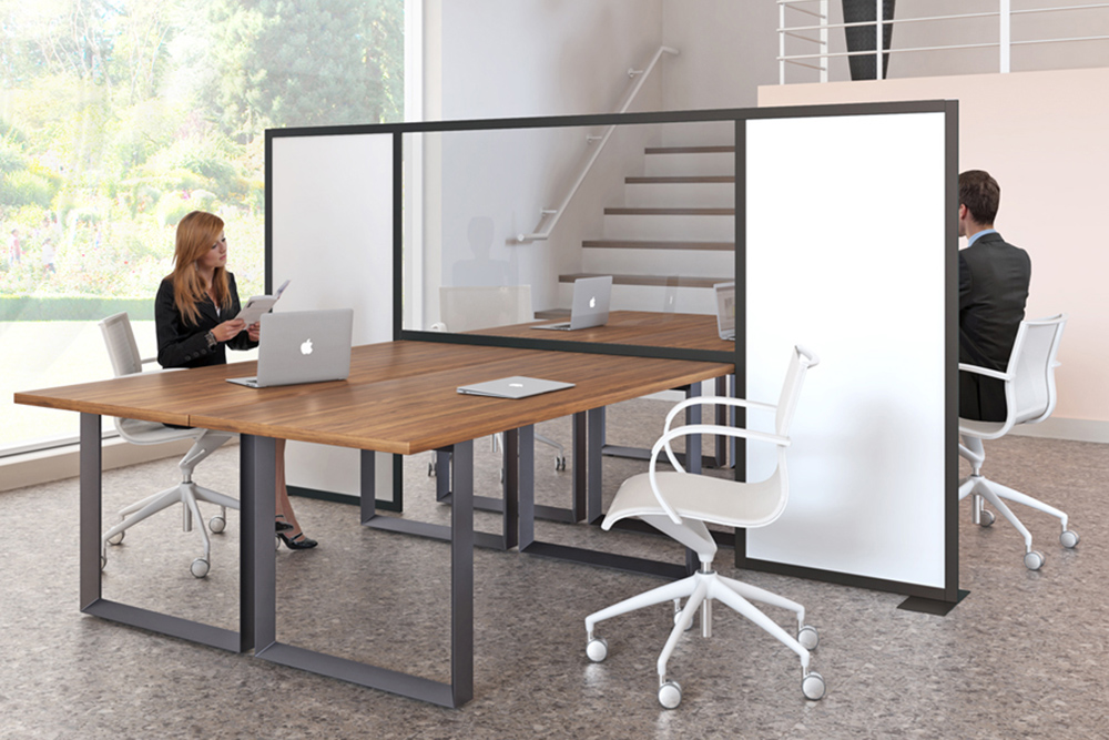Peter Pepper Protective Screens in Office