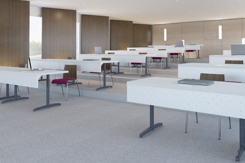 Classroom chairs with wood