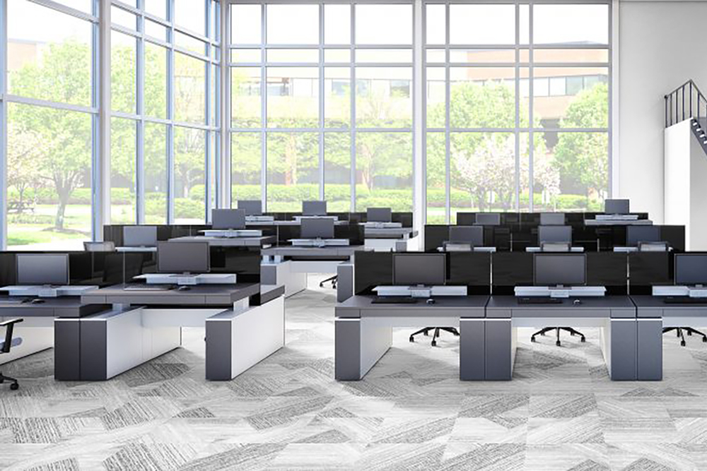 Low office furniture