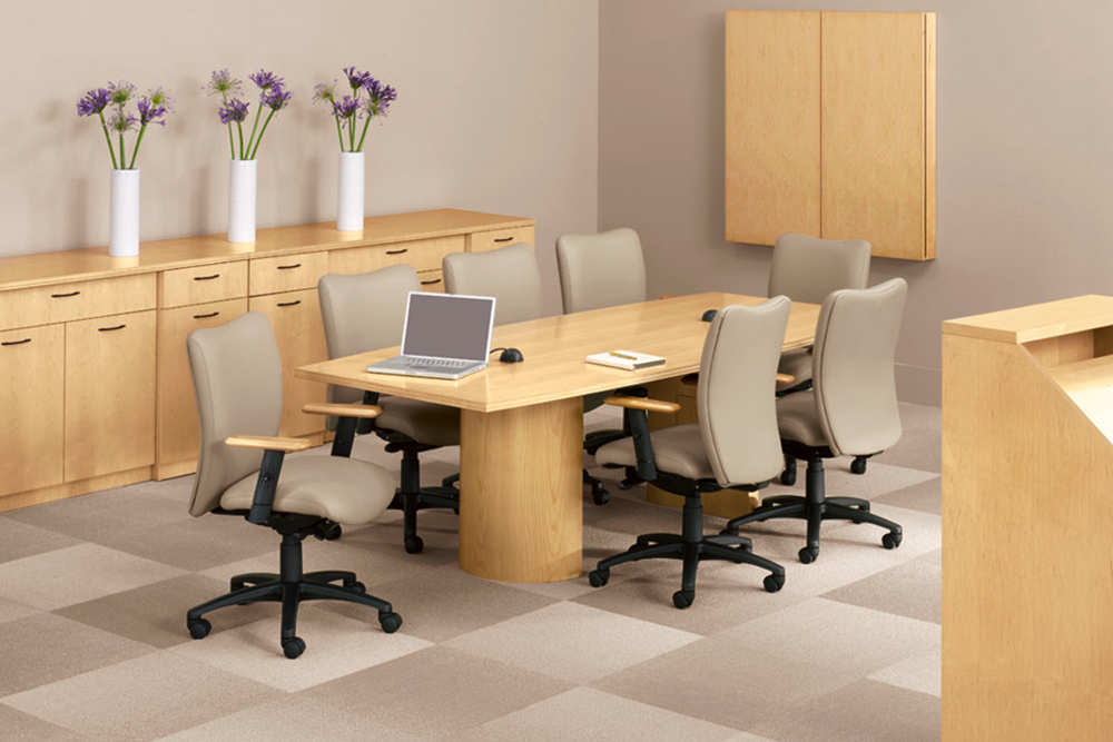 Round cylindar conference table
