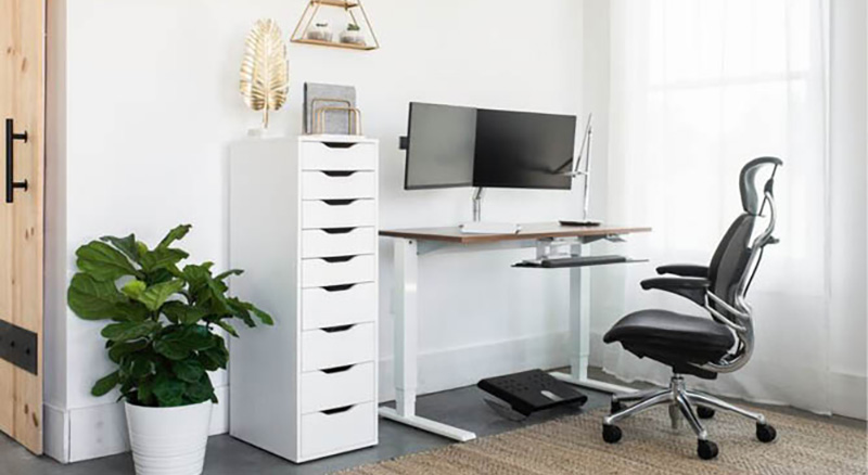 Sit/Stand Home Office Desk