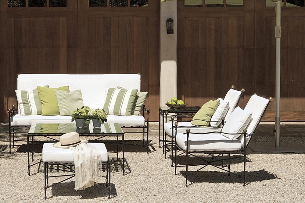 Classic outdoor furniture