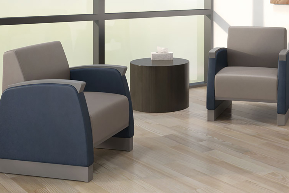 Sturdy chairs for behavioral lobby
