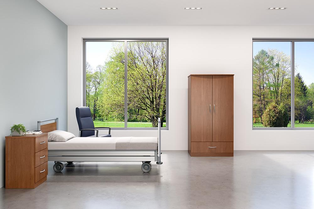Laminate patient furniture