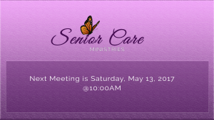 Senior Care Ministry @ Metropolitan Baptist Church