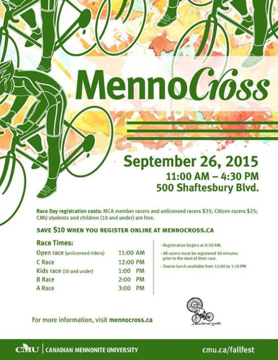 Menno Cross Poster