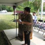 Leticia Jimenez reading