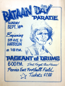 1970s Bataan Poster. (Gift of Mr. Jesse Jones)