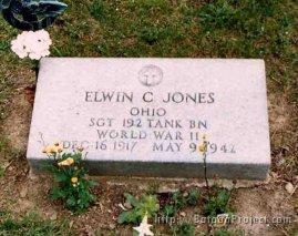 Sgt. Jones gravesite
