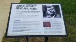 The JFK Memorial Plaza