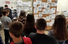 Design critique day in Entrepreneurship