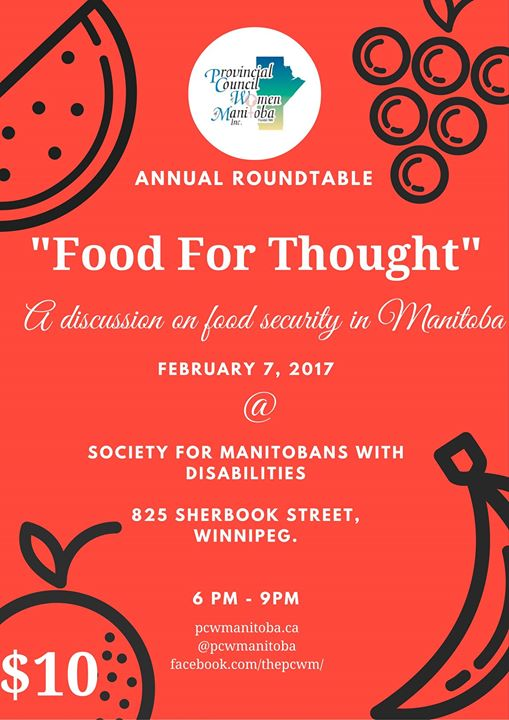 Annual Roundtable: Food for Thought