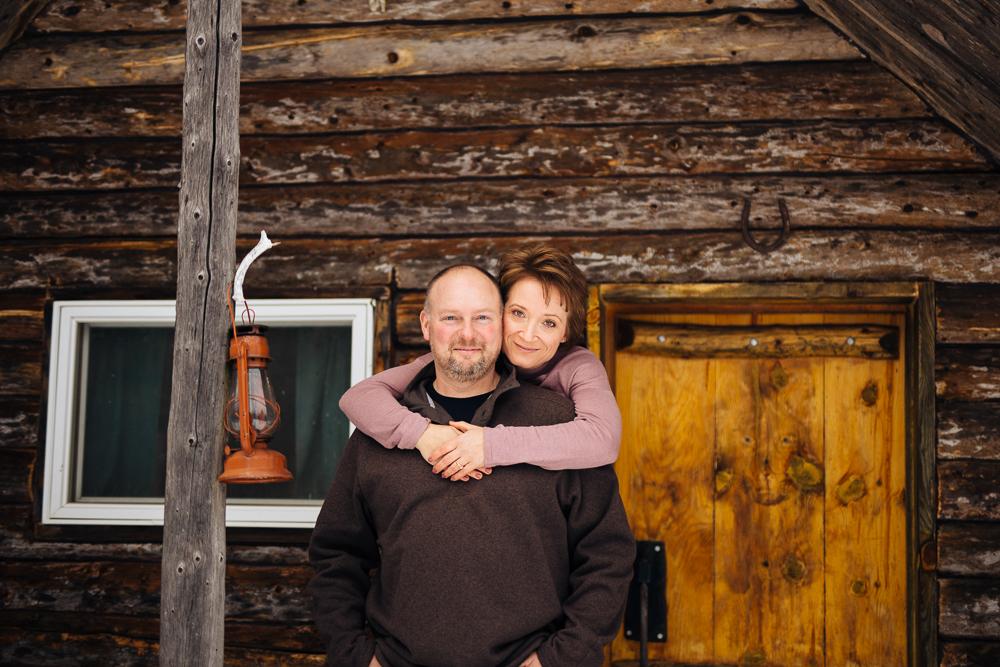 Kris + Anne // Winter Engagement