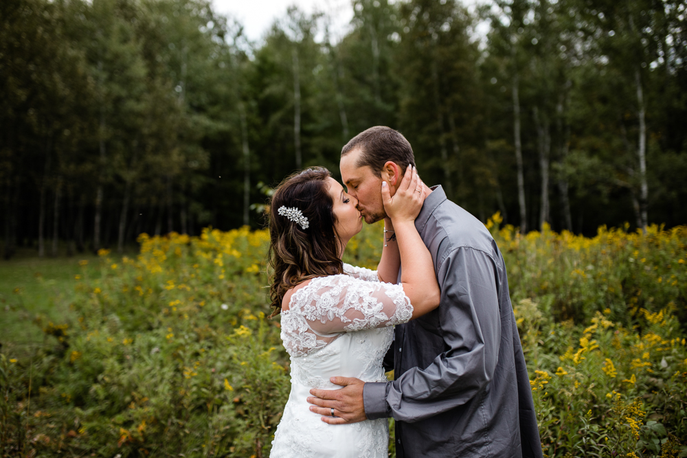 Erik + Natasha // Backyard Fall Wedding