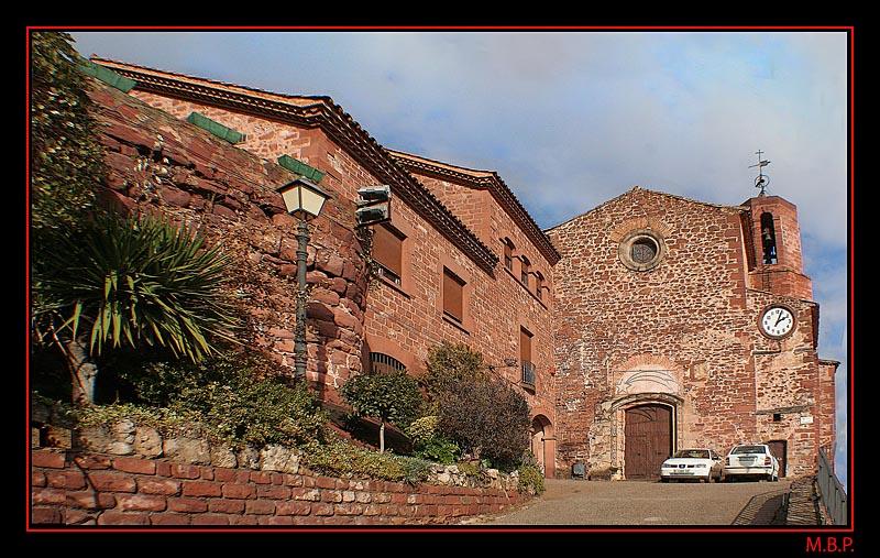 Fachada de Santa Maria de Corbera