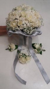 MB Eventi in fiore a Roma è il regno dei fiori e delle piante - Bouquet da Sposa 765