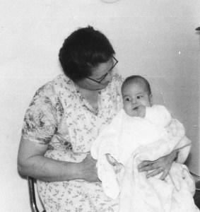Mervin Scott joins the Loewen family as a baby.
