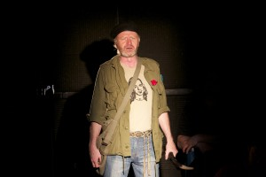 Ron Reed in Godspell photo credit Itai Erdal