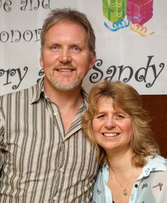 Barry & Sandy Falk Photo: Graeme Ellis